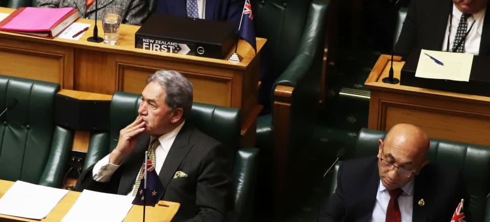 New Zealand First leader Winston Peters.  Photo: Lynn Grieveson