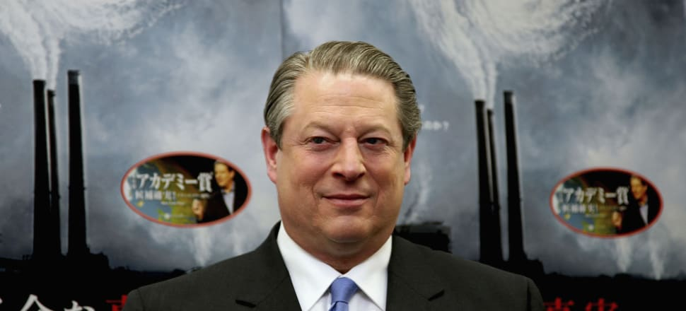 Al Gore's role as a champion of climate action was politically polarising and a mixed blessing for the planet. Photo: Getty Images