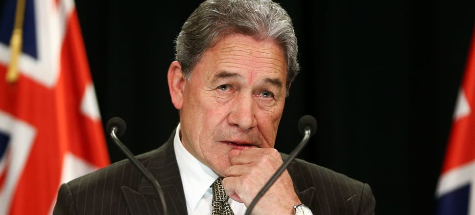 "Winston Peters calling a journalist a ""psycho"" might say more about him than anyone else. Photo: Getty Images"