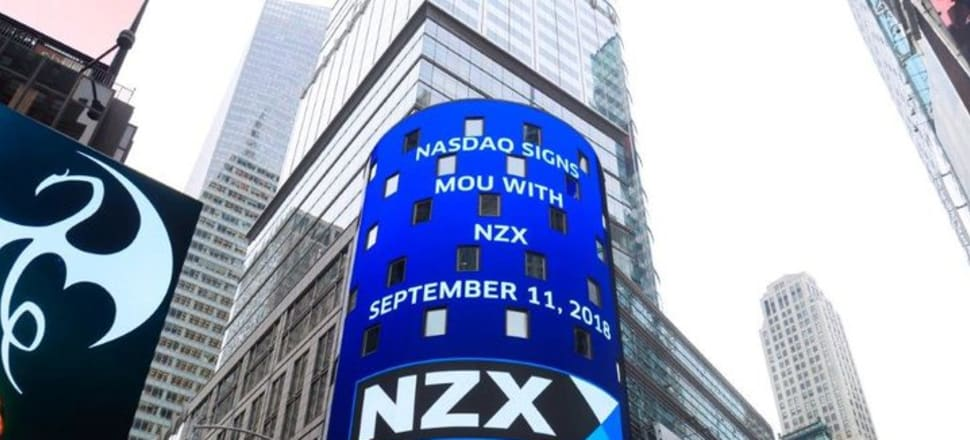 At the end of 1990, there were a total of 217 companies listed on the New Zealand stock exchange, but now that's dropped off to 132. Photo: NZX/Supplied