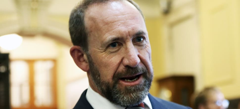 The Justice Minister Andrew Little. Photo: Lynn Grieveson