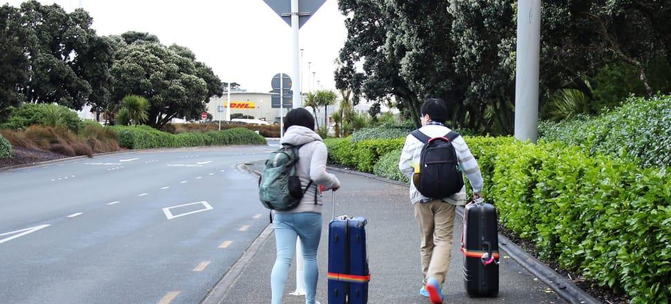 Work, residence and student visa approvals all well up in October. Photo: Lynn Grieveson