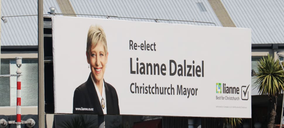 Christchurch's Mayor Lianne Dalziel has a serious marketing budget for her re-election campaign. Photo: David Williams