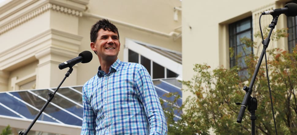 Wellington incumbent Justin Lester is seen by many as a sure thing, but those frustrated by a lack of movement are looking for change. Photo: Lynn Grieveson