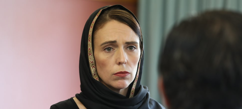 Jacinda Ardern at the Canterbury Refugee Resettlement and Resources Centre in Christchurch. Photo: Supplied