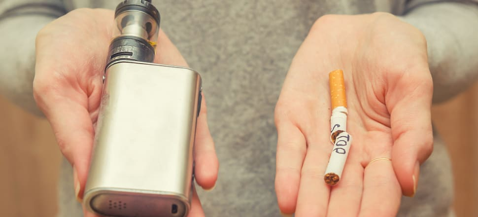 Alternatives to cigarettes could be the key to reducing smokers to 5 percent of the population. Photo: Getty Images
