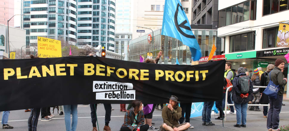 Extinction Rebellion activists are clear what they want, but most businesses have yet to work out what the required transformational change looks like for them. Photo: Lynn Grieveson