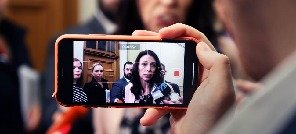 The Prime Minister has revealed the Government is looking into internet filtering in the wake of the Christchurch terror attack. Photo: Lynn Grieveson