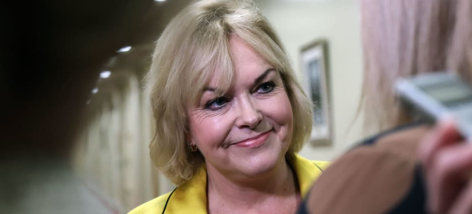 """On Facebook Judith Collins asserts climate change is not nearly as serious as """"media and the political left"""" say it is and claims we and other nations are incapable of sufficiently cutting emissions anyway. Photo: Lynn Grieveson"""
