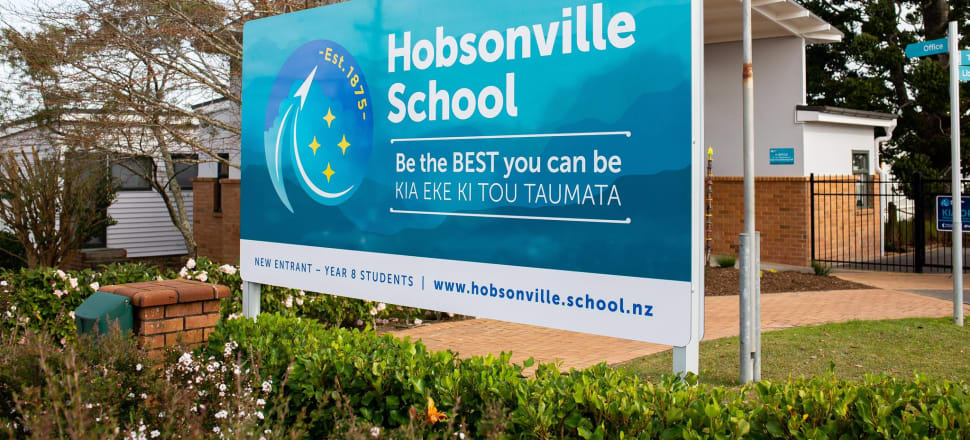 Alleged bullying of a young child at Hobsonville School has escalated to involve police, an MP and a local council member. Photo: Facebook/Supplied