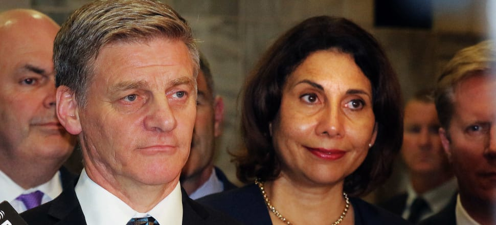 Former Prime Minister Bill English and his wife Mary have attacked proposed changes to abortion laws. File photo: Lynn Grieveson