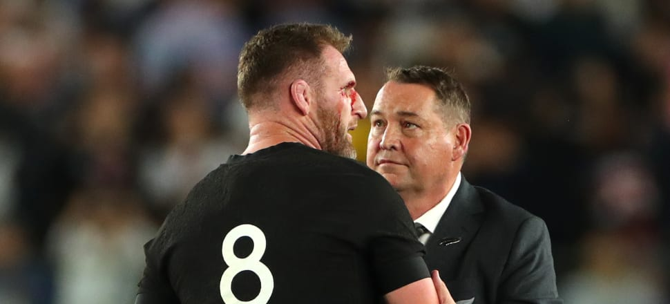 Depressed Kiwi rugby fans need to find someone who looks at them the way Steve Hansen looks at Kieran Read. Photo: Getty Images.