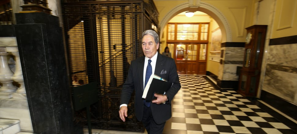 From Parliament to the High Court at Auckland, Winston Peters will have dual obligations next week. Photo: Getty Images.