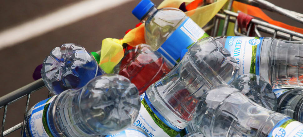 The fact a million plastic bottles are being bought every minute around the world should give anyone anxiety. Photo: Lynn Grieveson