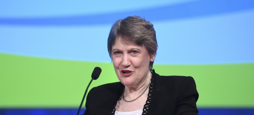Helen Clark says cannabis is 'quite dopey' but legalisation and a regulated regime is the best way to mitigate the risks. Photo: Associated Press