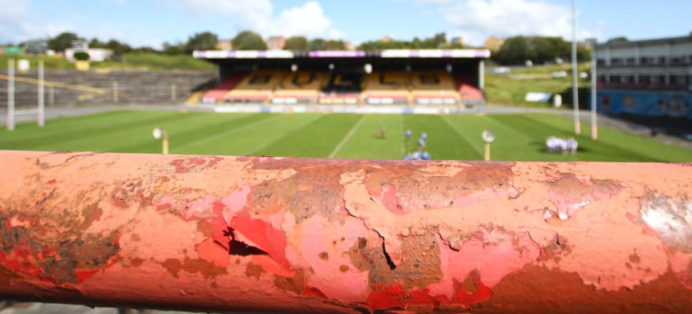 Odsal Stadium, in Bradford, has fallen into disrepair and has been abandoned by the city's once mighty rugby league team. Photo: Getty Images