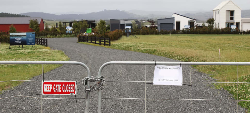 Te Kauwhata, where KiwiBuild houses are being put on the open market. Photo: Lynn Grieveson.