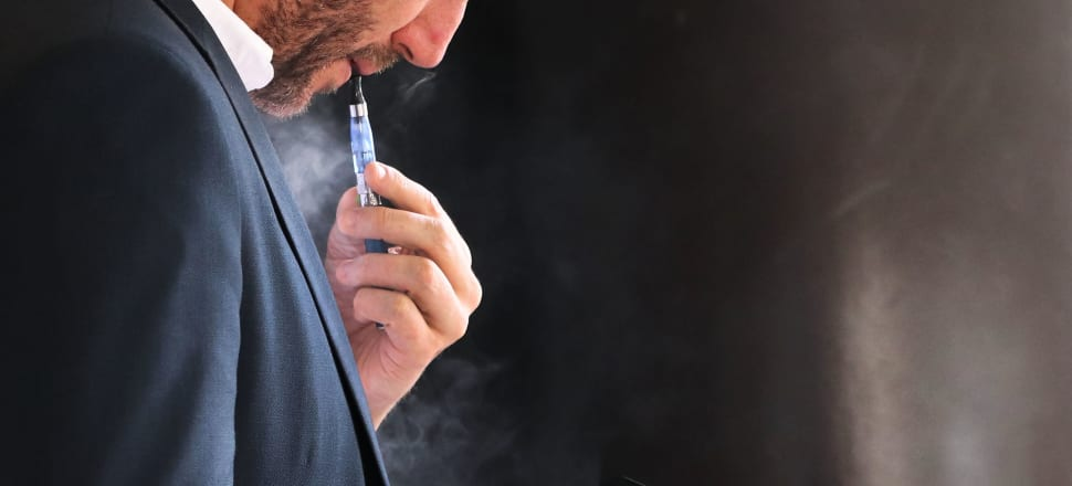 Tobacco companies are advertising vaping products on dating sites. File photo: Lynn Grieveson