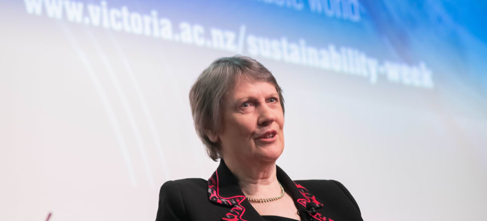 Former UNDP administrator and ex-prime minister Helen Clark. Photo: Victoria University of Wellington.