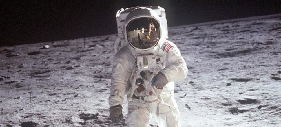 "John F. Kennedy said of going to the moon: ""That goal will serve to organise and measure the best of our energies and skills."" Should the same motivation apply to tackling climate change? Photo: NASA."