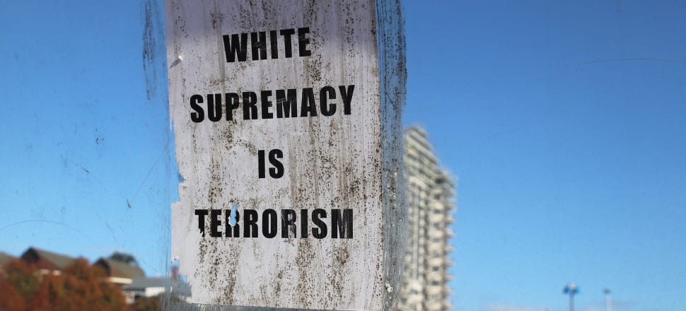 Although few would now deny that there are far-right extremists in New Zealand, questions remain around how many there are and whether we have truly reckoned with the root causes of white supremacy. Photo: Lynn Grieveson