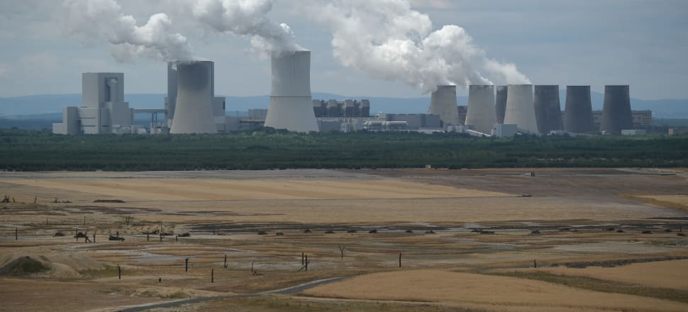 Coal fired power plants in eastern Germany. Photo: Getty Images