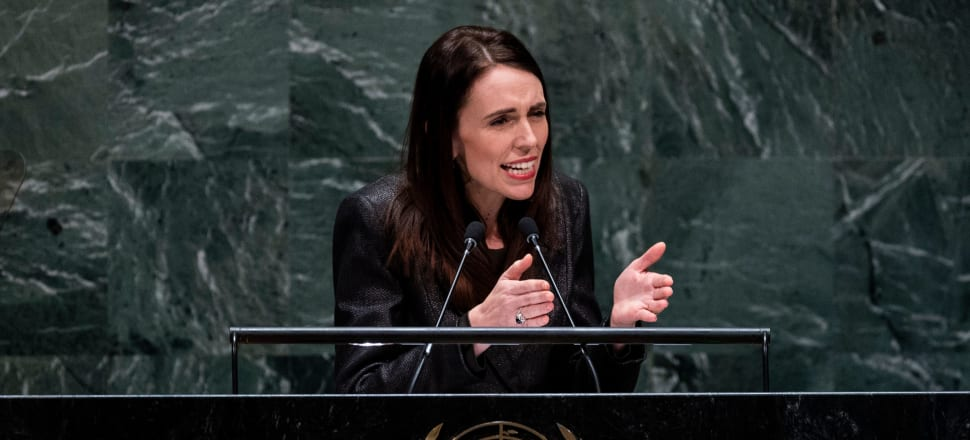 The March 15 attack has given Jacinda Ardern's push to maintain the rules-based order and multilateral collaboration a greater urgency. Photo: Getty Images.