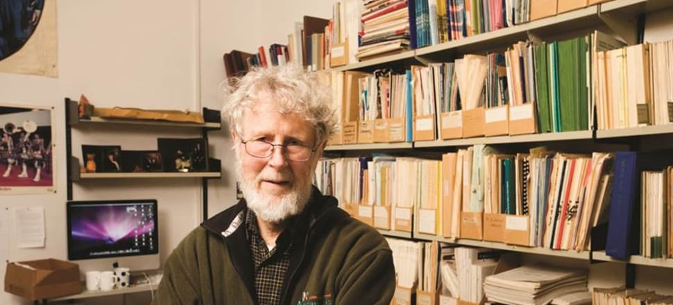Otago university emeritus professor, and former alliance candidate, James Flynn has had a recent book on free speech rejected by his publisher because it could be in breach of hate speech laws. Photo: Otago University