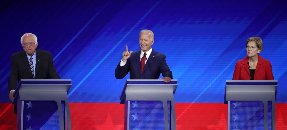 Sanders, Biden and Warren together attract around two-thirds of Democratic voter preferences for the US Presidential nomination. Photo: Getty Images