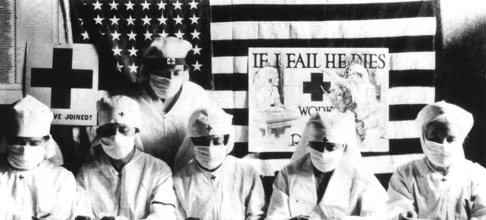 The influenza pandemic of 1918 changed the way we lived our lives. Archive photo: Getty Images