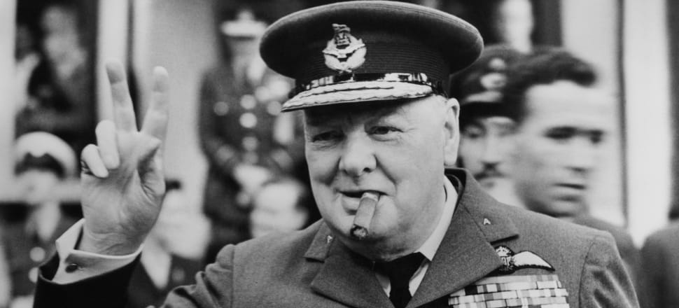 Winston Churchill inspired courage and hope in the English people during the Second World War. Photo: Getty Images