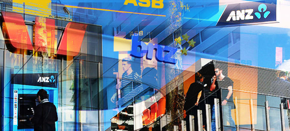 ANZ, ASB, BNZ and Westpac NZ paid $2.4 billion in dividends to their Australian parents last year, down 30 percent from $3.4b in 2018. Photo: Lynn Grieveson