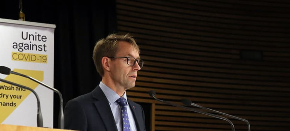Director-General of Health Ashley Bloomfield said all regions might not step down at the same time. Photo: Lynn Grieveson