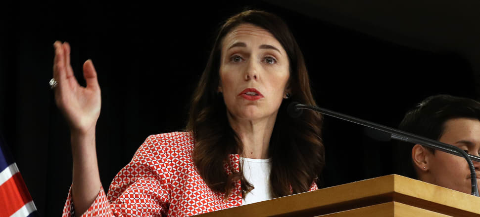 Prime Minister Jacinda Ardern and Director-General Health of Ashley Bloomfield fielded questions from the press on Sunday. Photo: Lynn Grieveson
