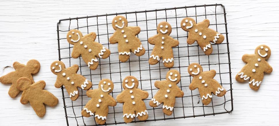 "LGBQT+ gingerbread ""men"" as pictured in the Watttie's cookbook."