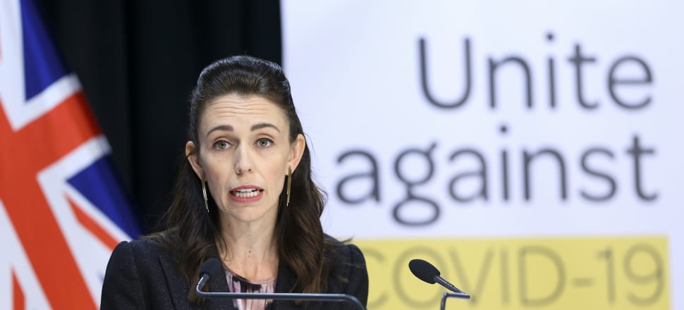 Prime Minister Jacinda Ardern has hammered home that a move out of lockdown will not be swift. Photo: Pool.