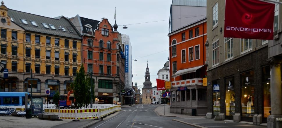"""Empty streets in Oslo: """"Together we have taken control of the virus, therefore we can open up society little by little,"""" Norwegian Prime Minister Erna Solberg now says. Photo: Flickr/Woody Hibbard"""
