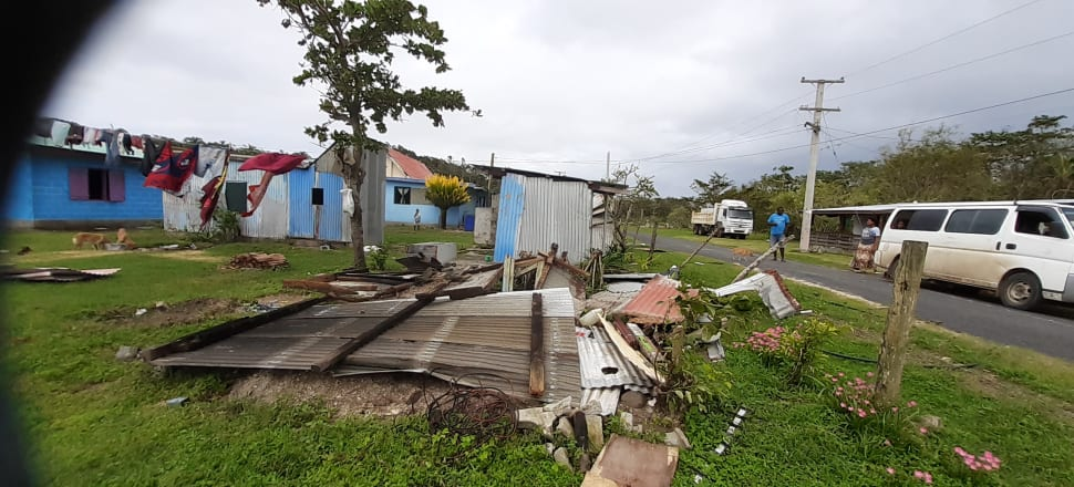 Wiped out: Cyclone Harold damage on Fiji's Coral Coast. Photo: Mandy de Vries Ecotrax