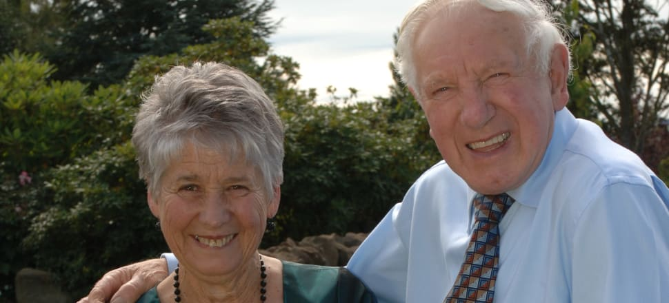 Margaret and her late husband Gordon on on their 50th Wedding Anniversary in 2007. Photo: Supplied