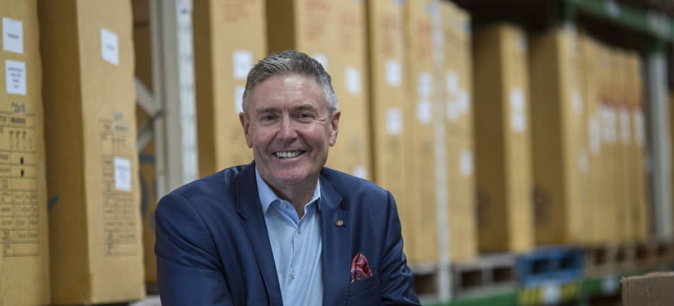 """Brett O'Riley is encouraged by the creative and energetic way businesses are rising to the challenge. One of the EMA's manufacturing members asked: 'Can you find me some unemployed baristas? They know how to run a production line'."""" Photo: Supplied"""