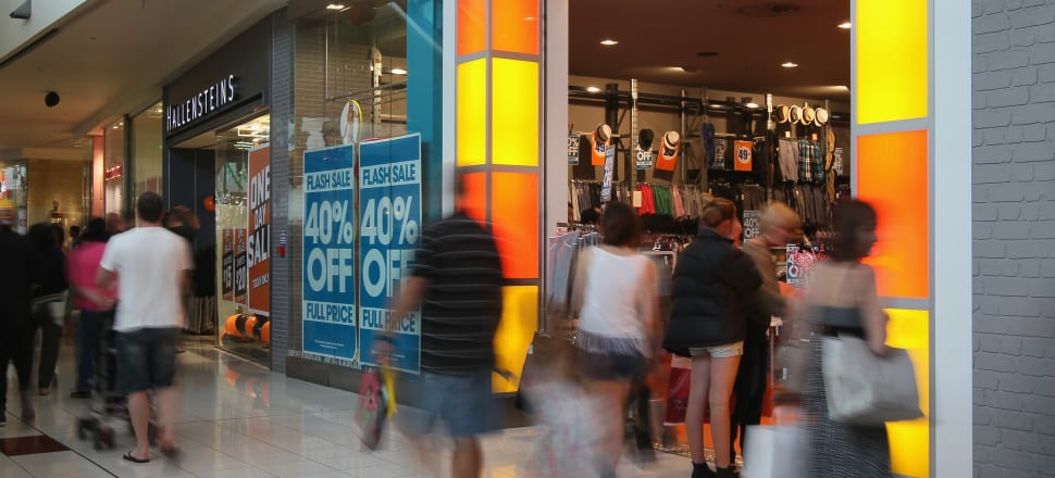 Kiwi Property's Sylvia Park shopping centre in happier times. Photo: Getty Images.