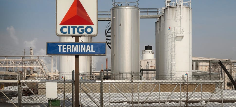 Tanks of fuel sit at a facility owned by Citgo, a subsidiary of PDVSA, the Venezuelan state owned oil company, on February 01, 2019 in Lemont, Illinois in the United States. With oil tanks full, some storage facilities and terminals are being forced to pay others to take the oil off their hands. Photo: Getty Images.