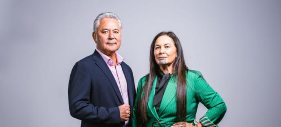Former Labour Cabinet Minister John Tamihere and iwi leader Debbie Ngarewa-Packer. Photo: Supplied