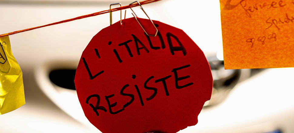 Italy resists - both the ravages of Covid-19 and the fiscal demands of its European neighbours. Photo: Getty Images