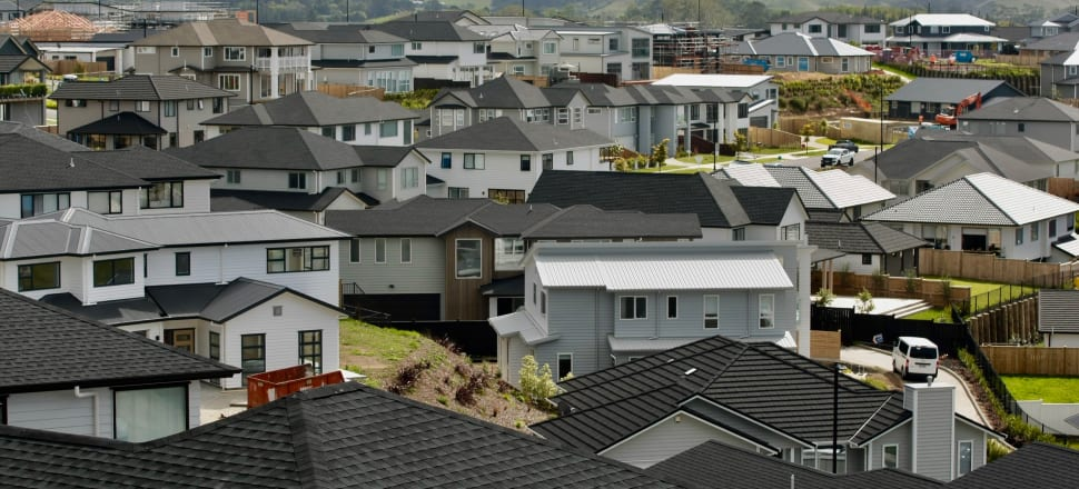 House prices will fall at least 10 percent during the Covid-19 pandemic, according to economist Cameron Bagrie. Photo: John Sefton