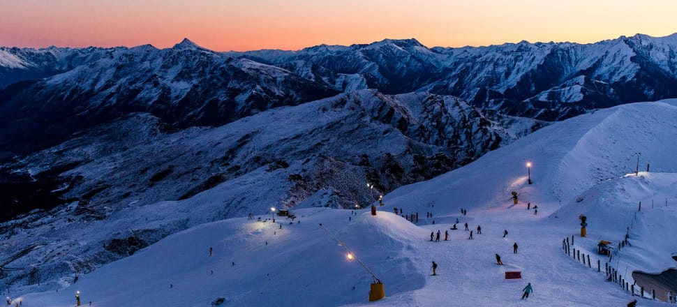 Coronet Peak ski resort in happier times. Photo: Supplied