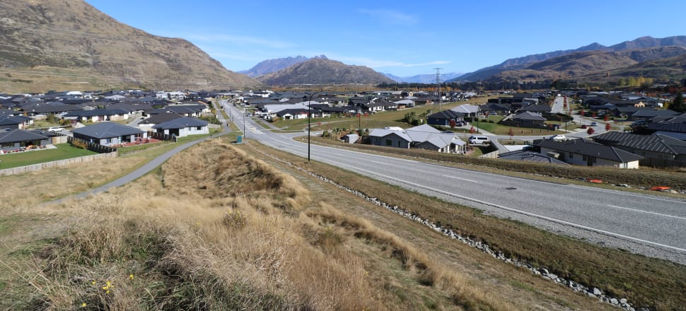 All these houses in Queenstown's Shotover Country subdivision have been built within the past seven years. Photo: Paul Taylor