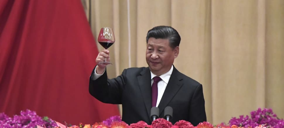 Many have piled on to Xi Jinping's China, criticising its non-transparent response to the Wuhan outbreak Photo: Getty Images
