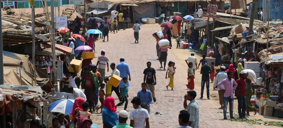 Rohingya refugees in Bangladesh camps are among those at particular risk from any outbreak of Covid-19 given their living conditions, aid agencies say. Photo: Getty Images.