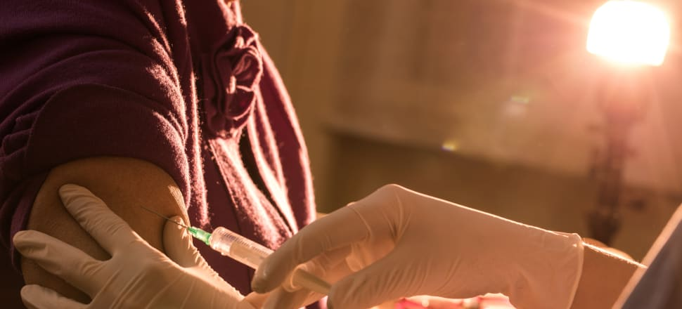 Could a Covid-19 vaccine be our ultimate 'buy local' product? Photo: Getty Images